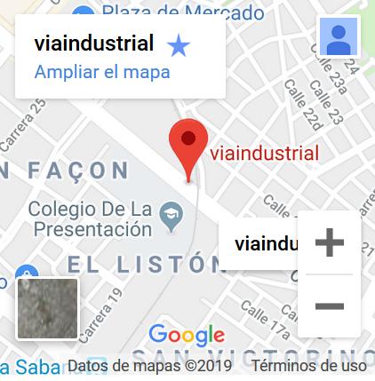Ir a viaindustrial con google maps